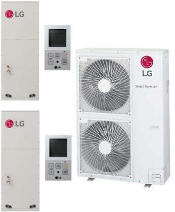 LG 963645 Dual-Zone Mini Split Air Conditioner, Main Image
