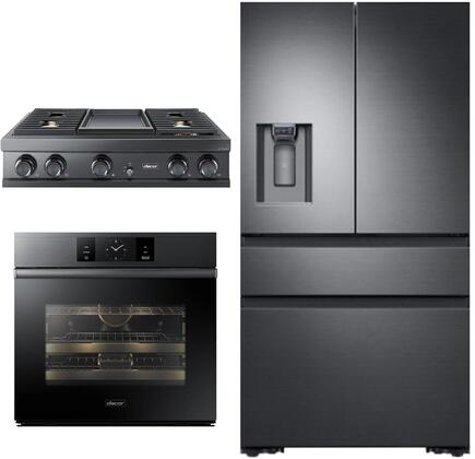 Dacor  1291008 Kitchen Appliance Package Graphite Stainless Steel, Main image