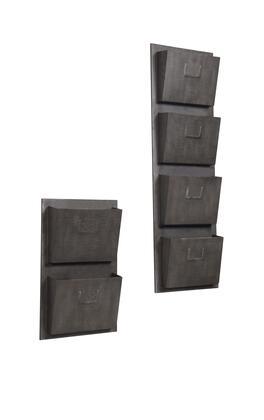 Linon AHWM12411 Wall Art, AHW M1240 1%20AHW M1241 1%20INDUSTRIAL%20METAL%20SLOT%20MAILBOX