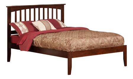Atlantic Furniture Mission AR8731004 Bed Brown, AR8731004