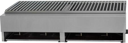 Lazy Man Model A A2TSN Natural Gas Grill Stainless Steel, Main Image