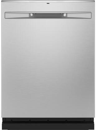 GE  GDP645SYNFS Built-In Dishwasher Stainless Steel, Front View
