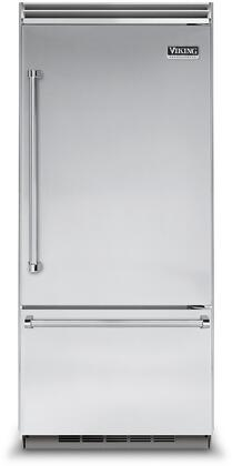 Viking 5 Series VCBB5363ERSS Bottom Freezer Refrigerator Stainless Steel, Stainless Steel