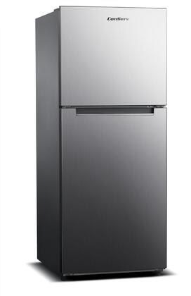 Equator  MDRF1010ESE Top Freezer Refrigerator Stainless Steel, Main View