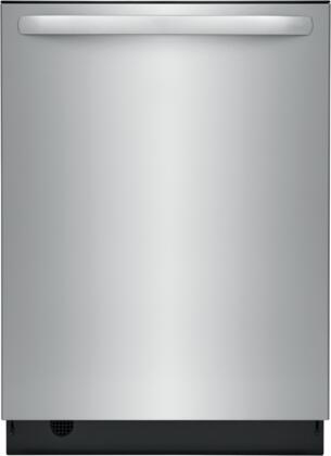 Frigidaire  FDSH4501AS Built-In Dishwasher Stainless Steel, Main Image