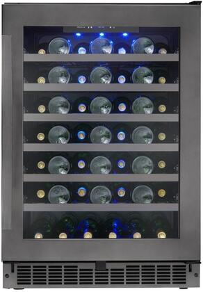 Danby Silhouette SSWC056D1BS Wine Cooler 26-50 Bottles Black, Main Image