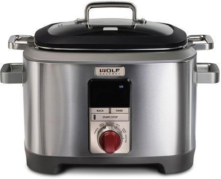 Wolf  WGSC100S Cooker/Fryer Stainless Steel, 1