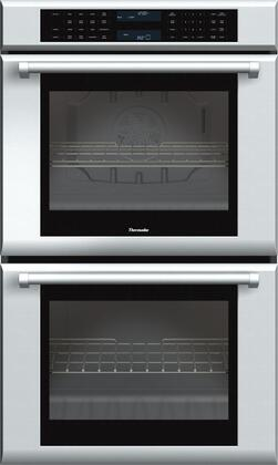 Thermador Masterpiece ME302JP Double Wall Oven Stainless Steel, ME302JP 30-Inch Double Oven with Professional Handle