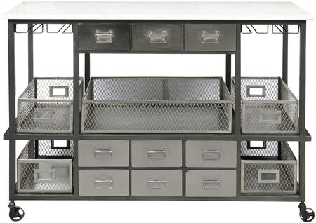 Accentrics Home Jasper P020ACCK1 Dining Room Buffet Silver, Main Image