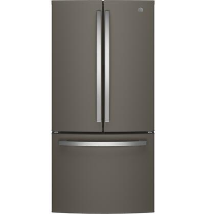 GE GNE25JMKES French Door Refrigerator Slate, Main image