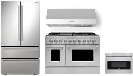 Appliances Connection Picks SHARP  1500901 Kitchen Appliance Package Stainless Steel, Main Image