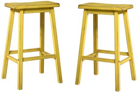 Acme Furniture Gaucho 96654 Bar Stool Yellow, Stools
