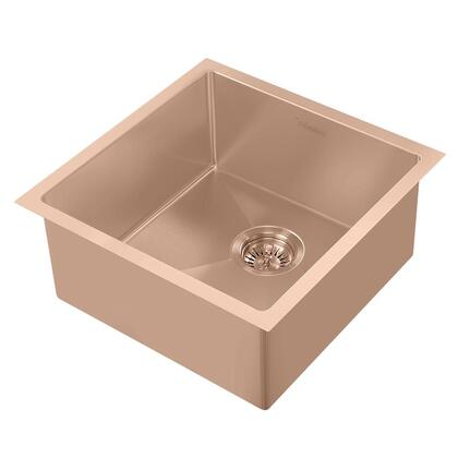 Whitehaus Noah Plus WHNPL1818CO Sink Brown, Main Image