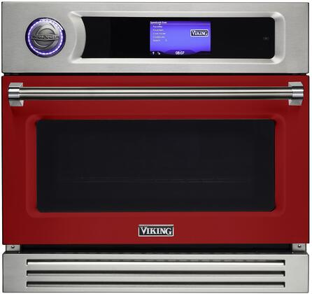 LVSOT730AR 30″ TurboChef Apple Red Single Wall Oven with  2.5 cu. ft. Capacity  Airspeed Technology  7 Speed Cook Modes  208