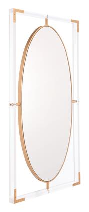 Zuo Lucite A11055 Mirror, A11055 Front