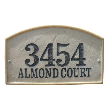 Qualarc Riviera RIV4602SS Address Plaques, RIV 4602 SS