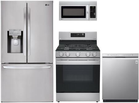 LG  1072308 Kitchen Appliance Package Stainless Steel, Main Image