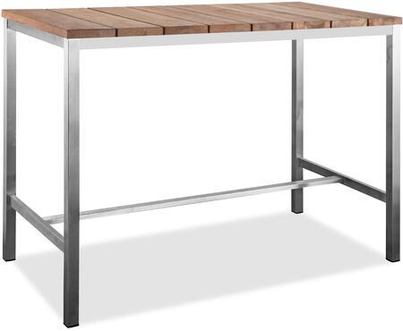 Br1597 55 Inch Indoor Outdoor Bar Table