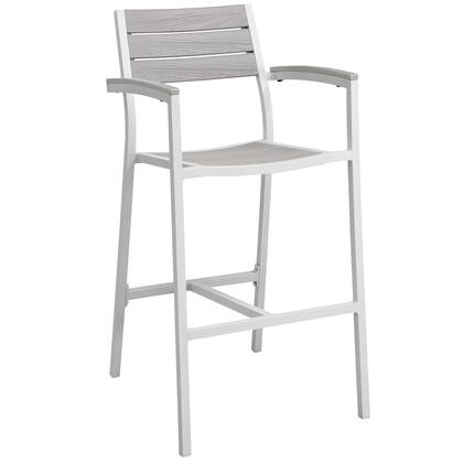 Modway Maine EEI1510WHILGR Patio Chair White, Main Image