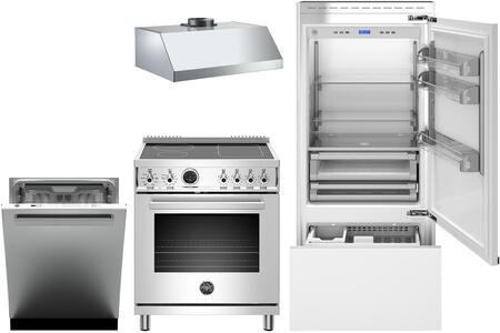 Bertazzoni 1054922 Kitchen Appliance Package & Bundle Panel Ready, Main image