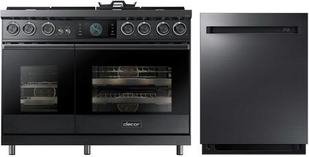 Dacor  937993 Kitchen Appliance Package Graphite Stainless Steel, 1