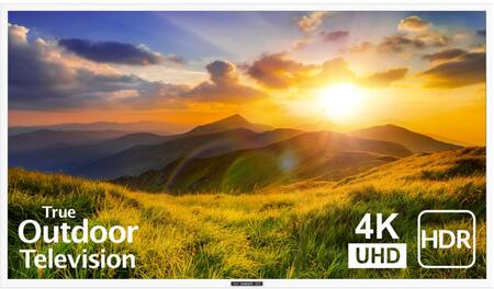 SB-S2-65-4K-WH 65″ Signature 2 Series 4K UHD Outdoor TV with HDR  OptiView Technology and TruVision Anti-Glare Technology in