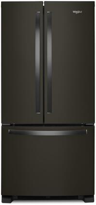 Whirlpool  WRF532SMHV French Door Refrigerator Black Stainless Steel, WRF532SMHV French Door Refrigerator
