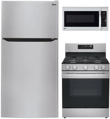 LG  904100 Kitchen Appliance Package Stainless Steel, 15