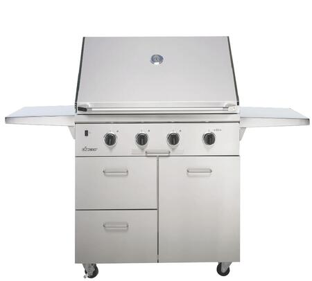 Dacor Discovery 1217011 Liquid Propane Grill Silver, uis image