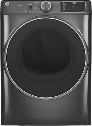GE  GFD55ESPNDG Electric Dryer Slate, Main Image
