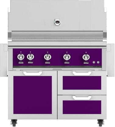 Hestan  851928 Natural Gas Grill Purple, Main Image