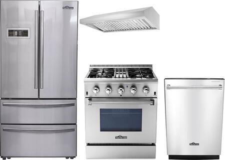 Thor Kitchen 887986 Kitchen Appliance Package & Bundle Stainless Steel, 1