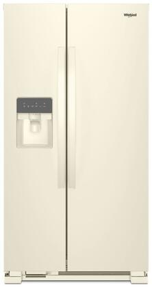 Whirlpool  WRS315SDHT Side-By-Side Refrigerator Bisque, Main Image