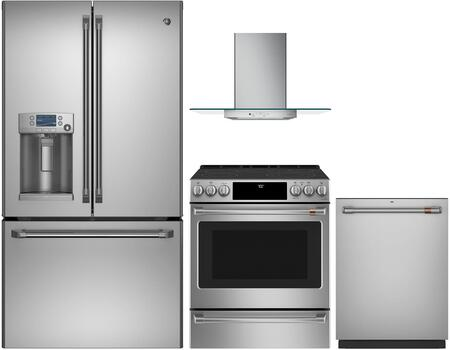Cafe 1053321 Kitchen Appliance Package & Bundle Stainless Steel, main image