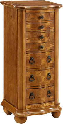 Powell Porter Valley 277314 Jewelry Armoire Brown, Main Image