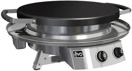 Evo Professional 100021NG Natural Gas Grill Stainless Steel, 100021NG Tabletop Grill