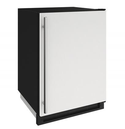 U-Line U1224FZRW00A Compact Freezer White, White View