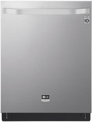 LSDT9908SS 24″ Dishwasher with 15 Place Settings  40 DBA  Truesteam 3rd Rack Glide  Tub Light  Wi-Fi  in PrintProof Stainless