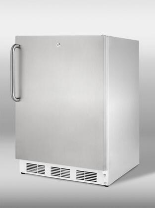 Summit  VT65ML7CSSADA Compact Freezer Stainless Steel, 1
