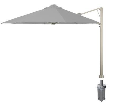Shadowspec SU7 Series KITP7SQ25GAGREA Outdoor Umbrella Gray, Slate Grey