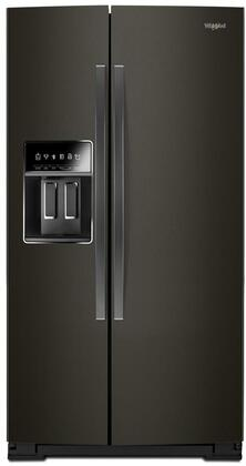 Whirlpool  WRS973CIHV Side-By-Side Refrigerator Black Stainless Steel, WRS973CIHV Counter Depth Side-by-Side Refrigerator