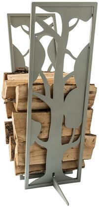 Curonian  LRTREES Firewood Storage Silver-Grey, Main Image