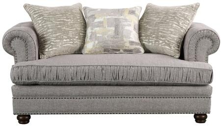 Acme Furniture Gardenia 53096 Loveseat Gray, Loveseat