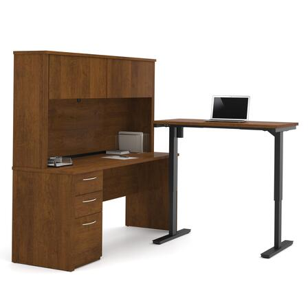 Bestar Furniture Embassy 6088663 Office Desk Brown, Main Image