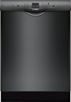 Bosch 100 Series SHEM3AY56N Built-In Dishwasher Black, Main Image