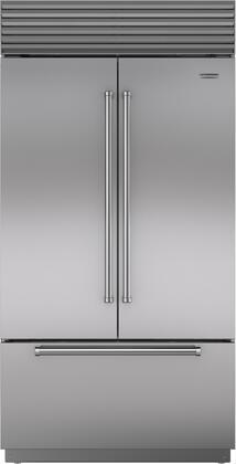 Sub-Zero Classic BI42UFDSPH French Door Refrigerator Stainless Steel, Main Image