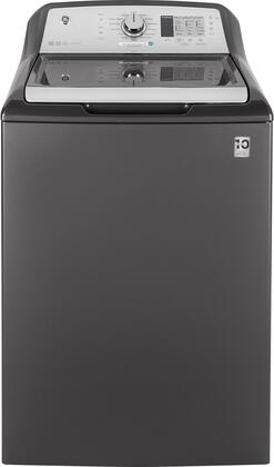 GE GTW680BPLDG 27 Inch Top Load Washer with 4.6 cu. ft. Capacity, 14 Wash Cycles, in Diamond Gray