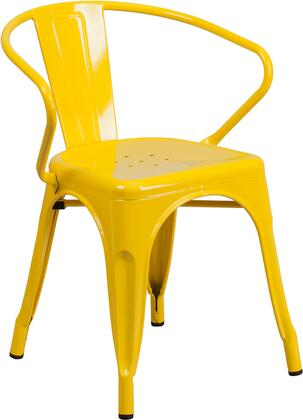 Flash Furniture CH31270YLGG Patio Chair Yellow, 1