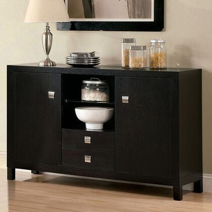 Furniture of America Bay Side I CM3311SV Dining Room Buffet Brown, Main Image