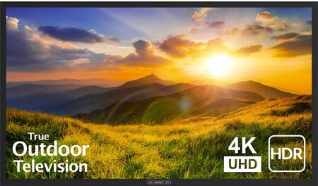SB-S2-55-4K-BL 55″ Signature 2 Series 4K UHD Outdoor TV with HDR  OptiView Technology and TruVision Anti-Glare Technology in